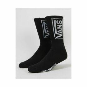 Vans Distort Crew Socks - Black (One Size Only)