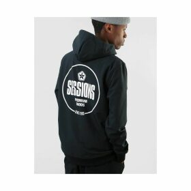 Sessions Nighthawk Graphic Pullover Hoodie - Black (S)