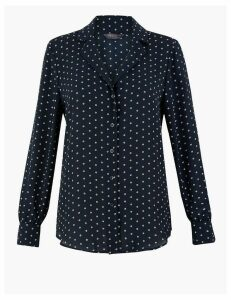 M&S Collection Polka Dot Shirt