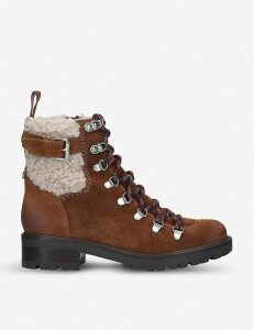 Sam Edelman Tenlee shearling hiking boots