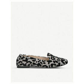 Starling faux-suede ballet flats