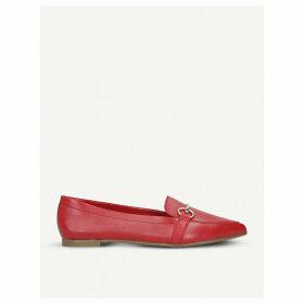 Qadovia leather loafers