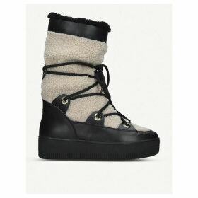 Tekky shearling snow boots