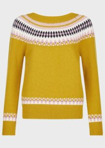 Layla Sweater Yellow Multi