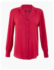 M&S Collection Revere Collar Shirt