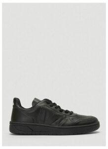 Veja V 10 Leather Sneakers in Black size EU - 39