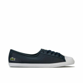 Womens Ziane BL Leather Trainers