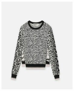 Stella McCartney Multicolour Animal Print Jumper, Women's, Size 14