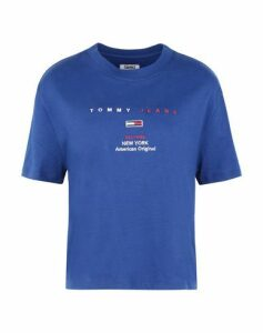 TOMMY JEANS TOPWEAR T-shirts Women on YOOX.COM