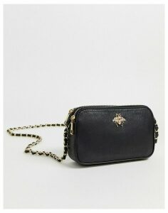 Chateau Black Cross Body Bag with Bee