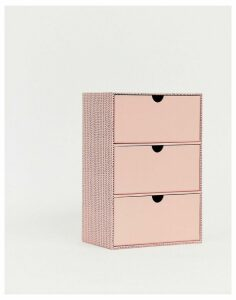 Paperchase desk tidy drawers-Multi