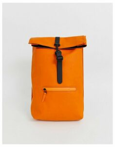 Rains rolltop rucksack-Orange