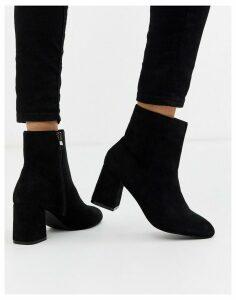 RAID Klink heeled ankle boots in black