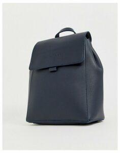 Claudia Canova Unlined Foldover Backpack-Blue