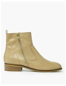 M&S Collection Leather Ankle Boots