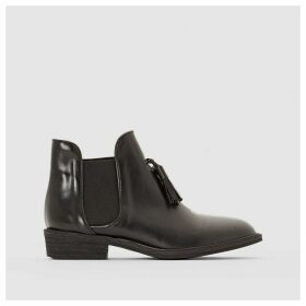 2681 Leather Ankle Boots