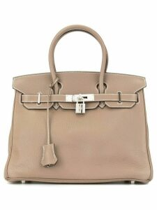Hermès pre-owned Birkin 30 handbag - Brown