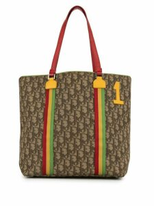 Christian Dior pre-owned Trotter Rasta tote - Brown