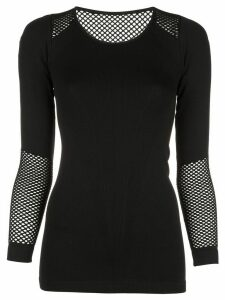ALALA seamless long sleeve top - Black