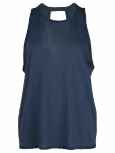 ALALA Keyhole muscle top - Blue