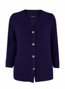 Purple Soft Touch Cardigan, Purple