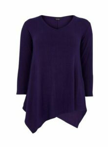Purple Soft Touch Top, Purple