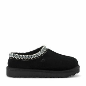 Ugg Tasman Slipper In Black Suede