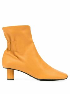 Proenza Schouler Ruched Nappa Boots - BUTTERSCOTCH