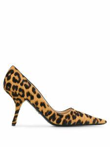 Prada leopard print pumps - Brown