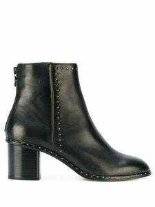 Rag & Bone side zipped ankle boots - Black