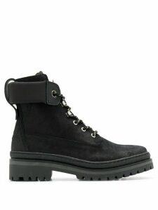 Tommy Hilfiger colour block boots - Black