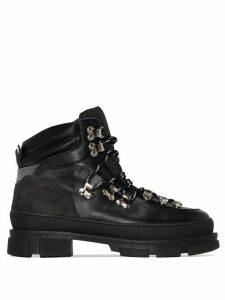 GANNI Winter City hiking boots - Black