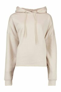 Womens Plus Extreme Oversized Hoody - cream - 16, Cream