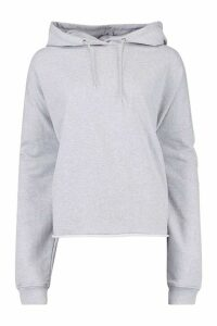 Womens Plus Extreme Oversized Hoody - grey - 16, Grey