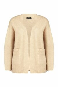 Womens Edge To Edge Cardigan - beige - M, Beige