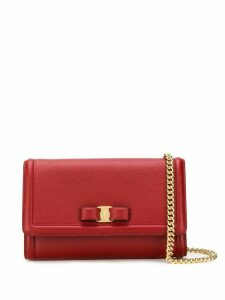 Salvatore Ferragamo mini Vara Bow cross-body bag - Red