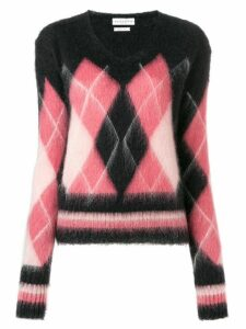 Ballantyne diamond knit sweater - Black