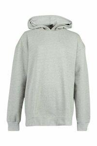 Extreme Oversized Hoody - grey - M, Grey