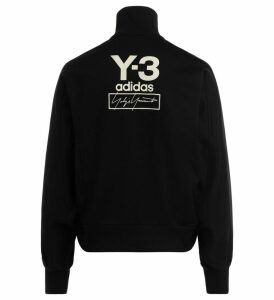 Y-3 Sweatshirt In Black Technical Fabric