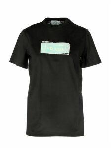 Prada Logo Crewneck T-shirt