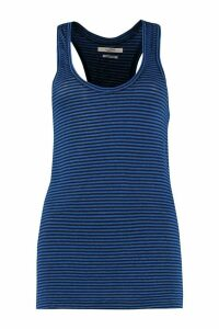Isabel Marant Étoile Avien Striped Linen-cotton Blend Tank Top