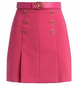 Elisabetta Franchi Pink Short Skirt