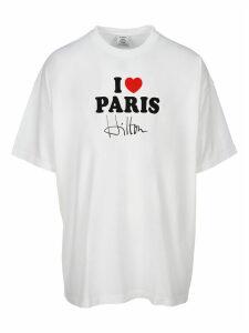 Vetements i Love Paris Print T-shirt