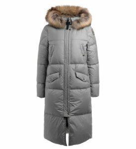 Parajumpers Coat Pouf Silver Stuffed Model With Down