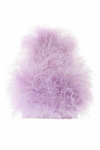 The Attico Marabou Top