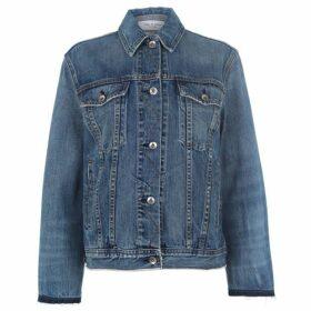 Rag and Bone Dana Oversized Denim Jacket
