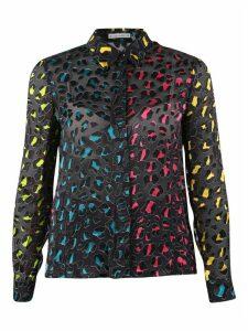 Alice + Olivia Leopard Motif Shirt