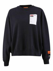 HERON PRESTON Branded Sweatshirt