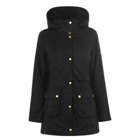 Barbour International Kirk Long Wax Jacket