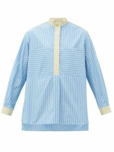Weekend Max Mara - Uganda Shirt - Womens - Blue White